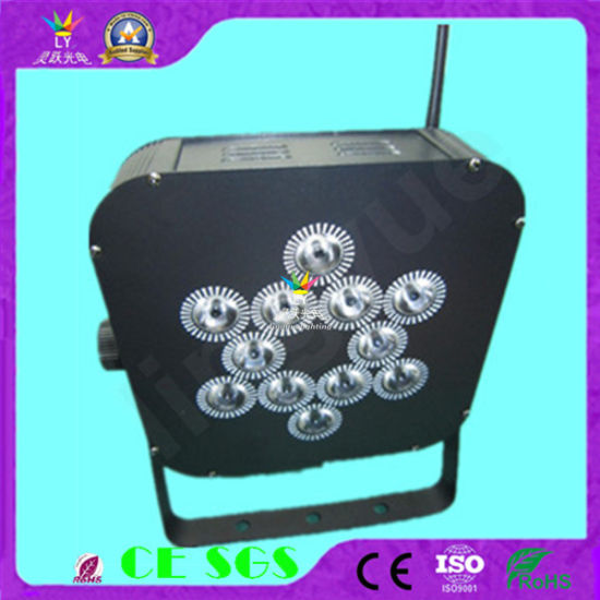 Stage Lighting 12X12W Remote Wireless Battery LED PAR Can