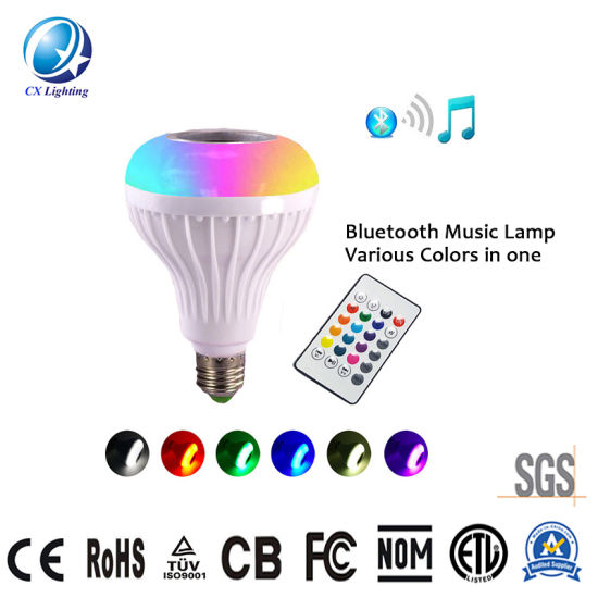 Small Pretty Waist Bluetooth Music LED Stage Light Low Allocation 12W 85-265V