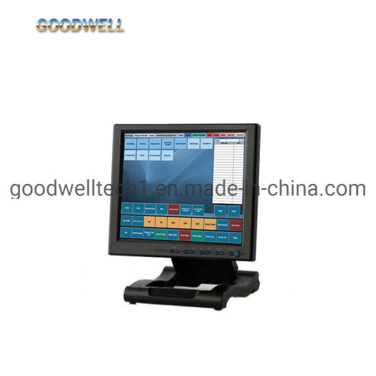 VGA/HDMI/DVI Input Industrial Touch Screen Industrial 10.4 Inch TFT LCD Monitor