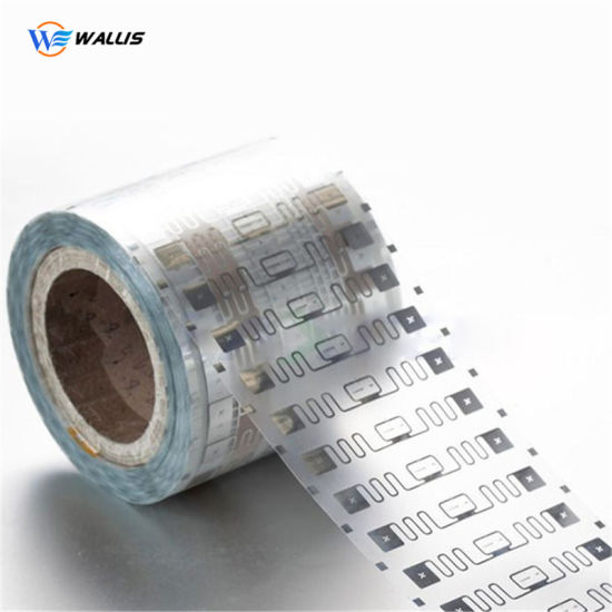 Hf UHF Chip Dry Inlay Roll Lf Copper Coil 125kHz RFID NFC Label Tag, Cmyk Print White PE Sheet Electronic Labels