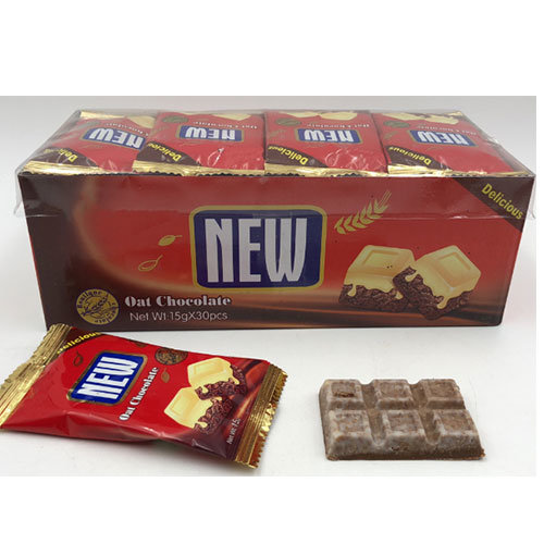 30PCS Good Quality Box Packing Delicious New Oat Chocolate