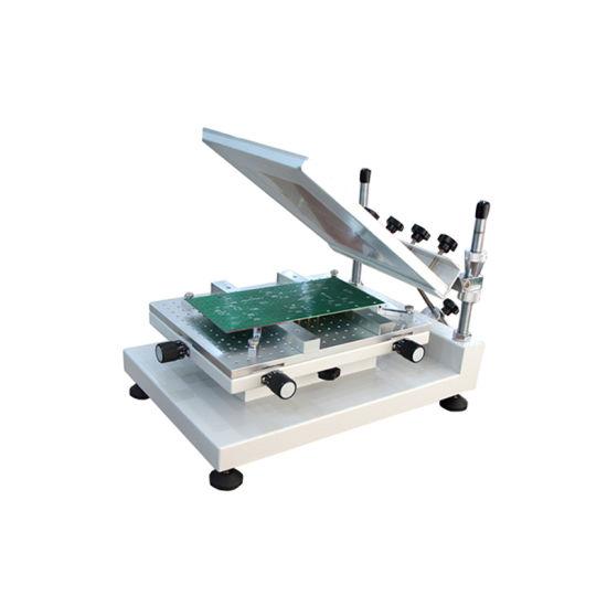 High Precision 3040 Stencil Printer / SMT Manual Solder Paste Printer 3040 Charmhigh
