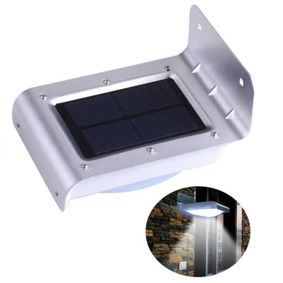 New Generation 16 LED Solar PIR Infrared Motion Sensor Security Outdoor Light