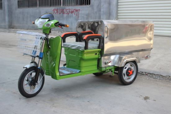 Electric Garbage Tricycle---for Green City Tricycle