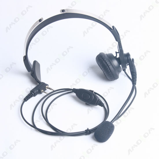 Service Control Center Headset Kinds of Two Way Radio Headphone