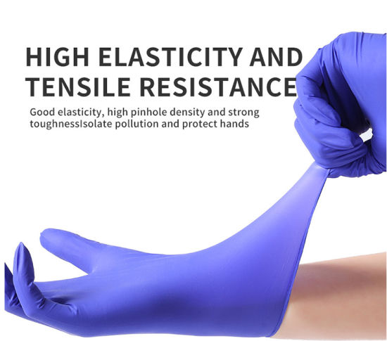 Anti Bacterial Anti-Virus Dentist Examination Medical Use Heavy Duty Surgical Disposable Nitrile Gloves
