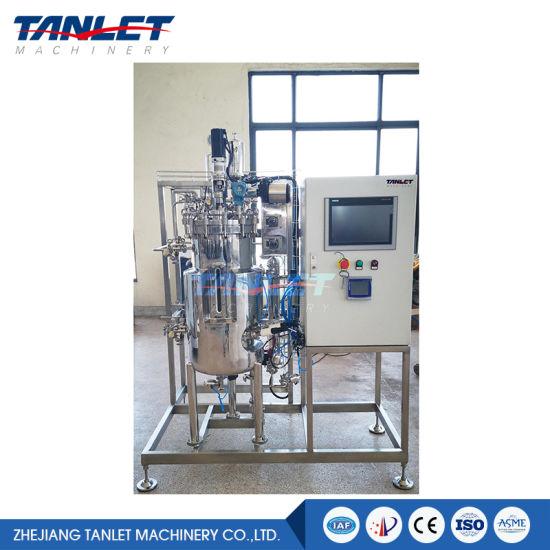 Automatic Two-Union Fermentor Fermentation Tank for Laboratory