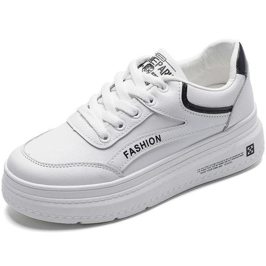 Korean Fashion White Shoes Women Platform Shoes Ladies Casual Shoes 2021 Vulcanized Shoes