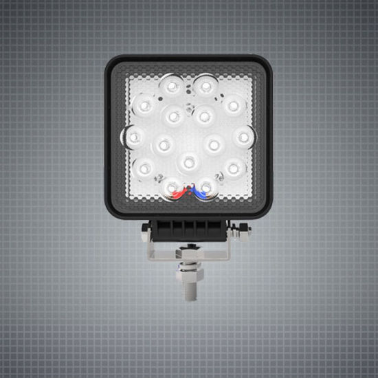 6inch 15W Osram 2835 Squar IP67 LED Work Light for for Trucks/ATV/UTV/Offroad