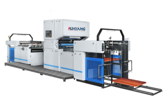 Hym-1050A Automatic Medium Speed Laminating Machine