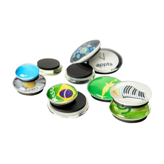 Leadsub Factory Outlet Sublimation Ceramic Refrigerator Magnet Souvenir Fridge Magnet