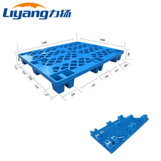 HDPE PP Euro Mesh Nine Feet Recycled One Way Shipping Disposable Plastic Pallets