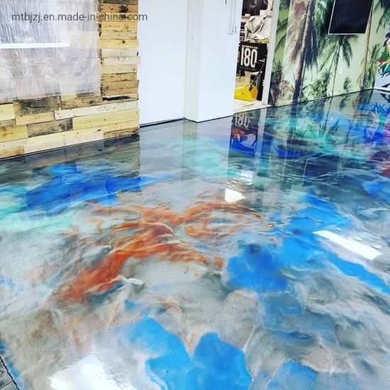 Metallic Epoxy Resin Flooring Coating