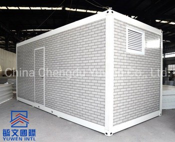 China Detachable Prefabricated Flat Pack Container House With Multi-Function