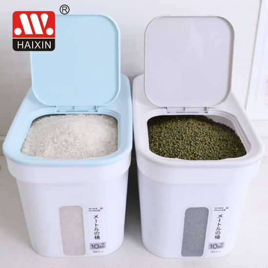 Newest Plastic Rice Storage Box for Kitchen and Household