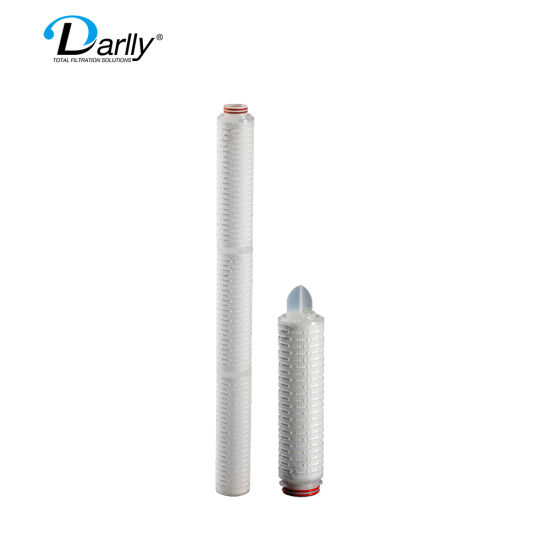 Darlly Pes 0.1 Micron Pleated Filter Cartridge for Eyedrops, Lyophilized Powder Sterile Filtration