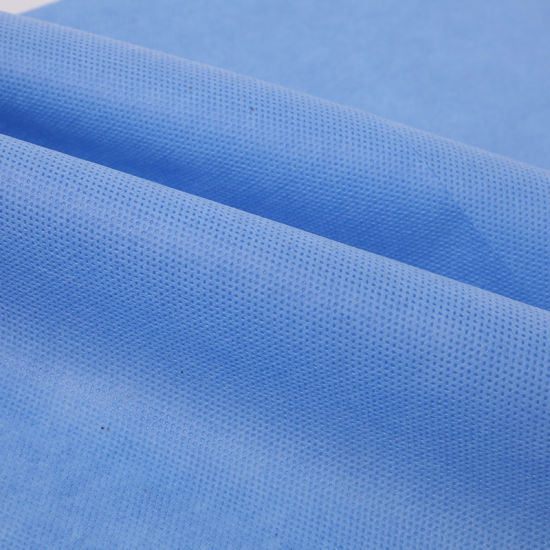 SMS SMMS Hydrophobic Water-Proof Nonwoven Fabric Manufacturer for Diaper Raw