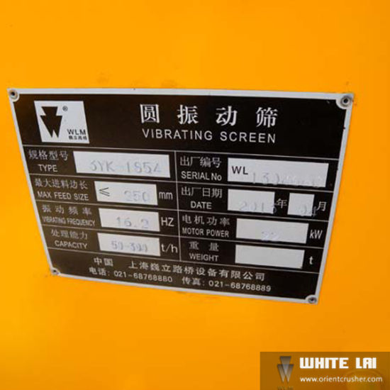 Vibrating Screens for Mining Machine (3YK-1854) pictures & photos