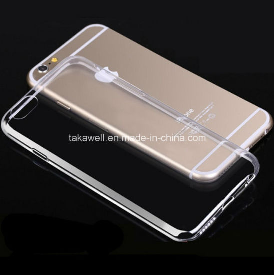 Ultrathin 0.3mm Transparent TPU Case for iPhone 5/5s/5se iPhone 6 6s Mobile Phone Cover pictures & photos