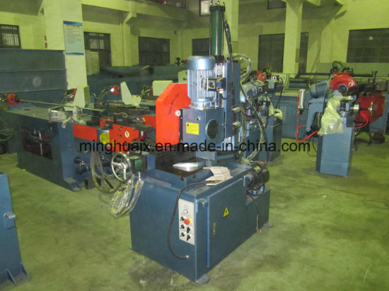 Hydraulic Semi-Automatic Pipe Cutting Machine Mc-350 pictures & photos