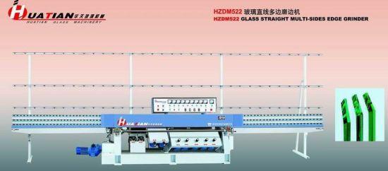 9 Motors Automatic Flat Glass Straight Line Grinding Machine