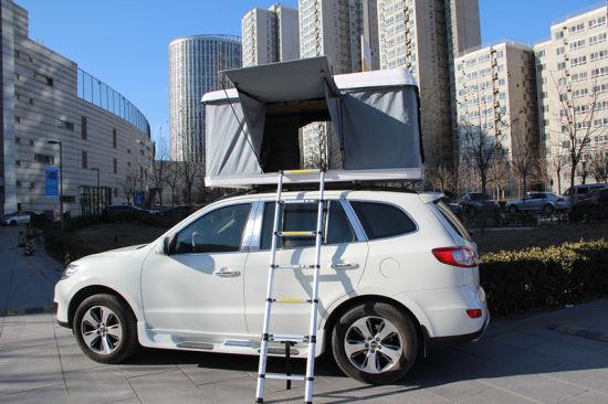 4WD Car Roof Top Tents Hard Shell Fiberglass C&er Car Tent & China 4WD Car Roof Top Tents Hard Shell Fiberglass Camper Car Tent ...
