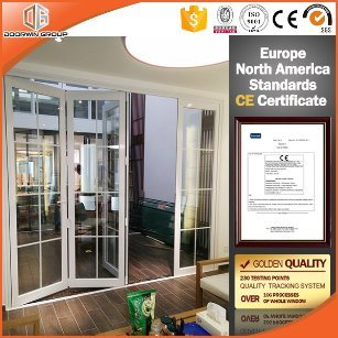 Top Quality Folding Door with Colonial Bars in China - China Sliding ...