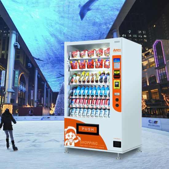 Afen Auto Bottled Water Beer Cold Drink Vending Machine Manufacturer
