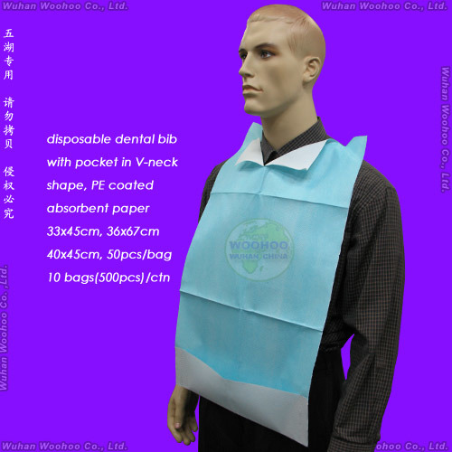 Disposable T+P Dental Bib Apron pictures & photos