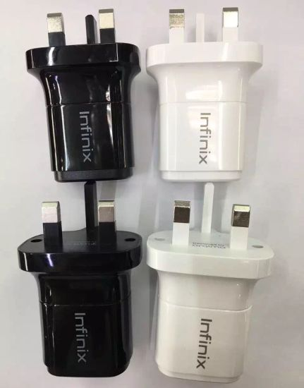 Factory OEM Wholesale UK Phone USB Travel Charger Charging Adapter pictures & photos
