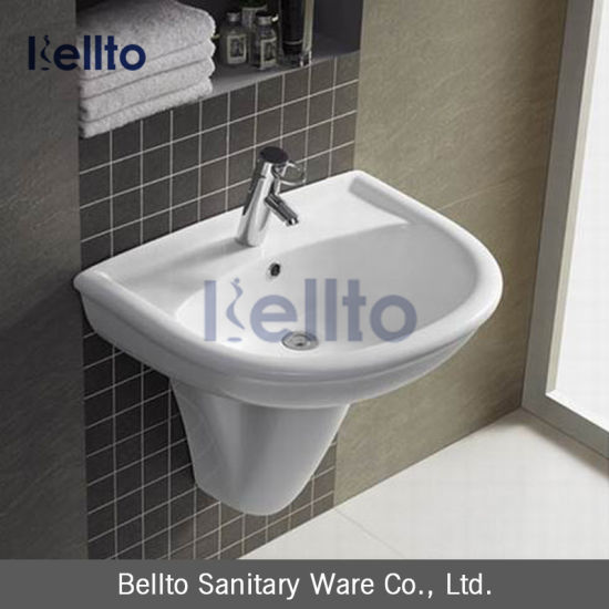 Small Bathroom Modern Pedestal Sink
