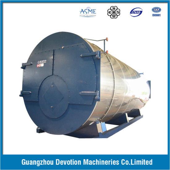 China ASME 10 Ton Gas/Oil/Dual Fuel Steam Boiler with European ...