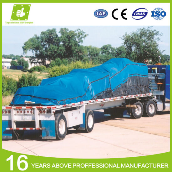 Factory Supply Best Price Polyester Waterproof Fabric PVC Tarpaulin Truck Cover Lumber Tarp Steel Tarp pictures & photos