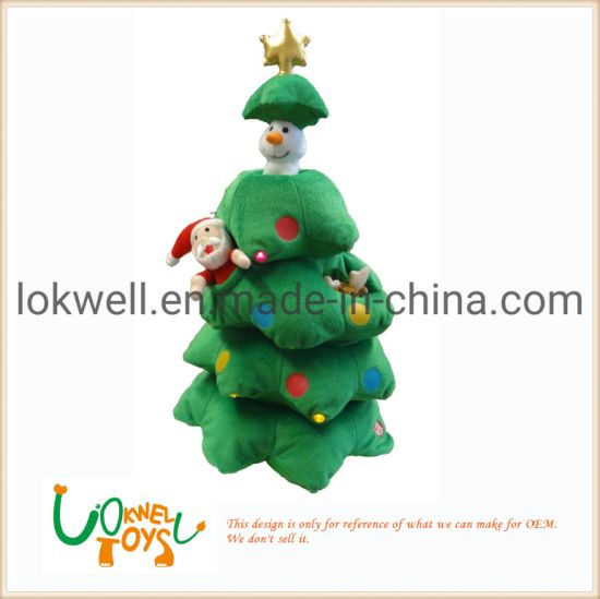 Plush Stuffed Christmas Tree Festival Decoration Toys pictures & photos