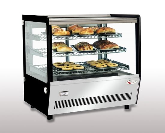 Table Top Square Hot Bakery Showcase (FGTW120LS) pictures & photos