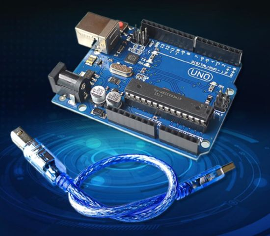 Uno R3 Uno Board with USB Cable (Compatible)