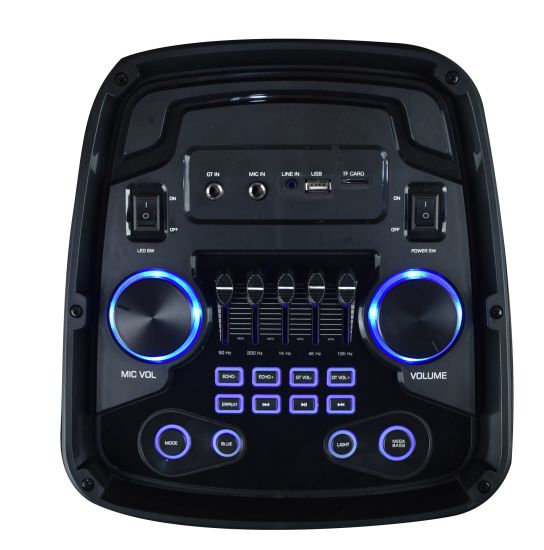 LED Portable Bluetooth Wireless Powerful Private Speaker