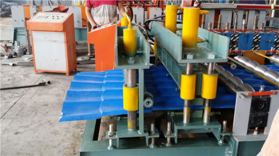 1100 Step Tile Roof Forming Machine with Reasonable Prices pictures & photos