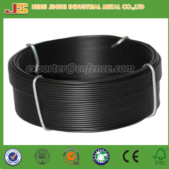 PVC Coated Galvanized Coil Iron Wires, Binding Small Coil Wire pictures & photos