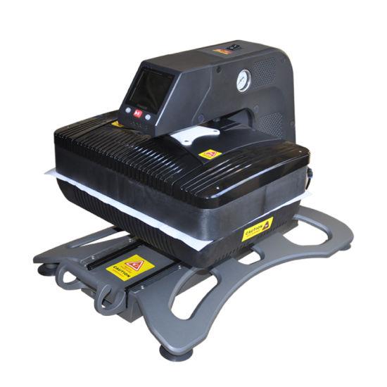 china best selling big size press machine t shirt printing machine ...