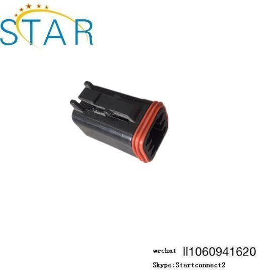 a2c2d0f0eff563 China Black Deutsch 2 3 4 6 8 10 12 Pin Waterproof Connector Plug ...