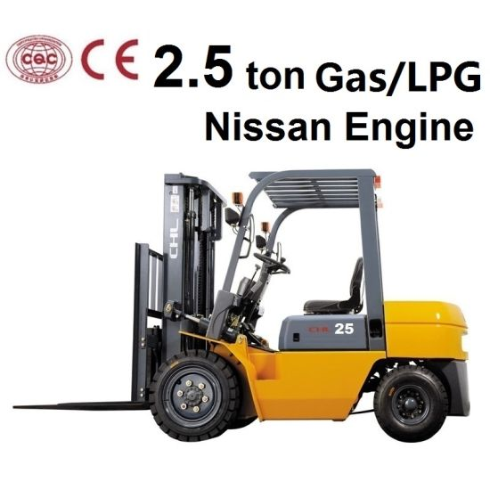 2.5 Ton Gas or LPG New Forklift for Nissan K25 Engine pictures & photos