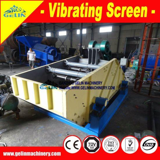 Screening Plant Titanium Vibrating Screen for River Sand