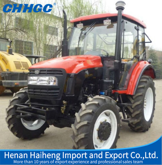 China Agriculture Tractor Yto Engine 85HP Four-Wheel Farm