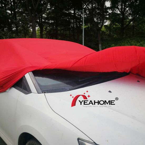 Elastic Soft-Feeling Brushed Finished Car Covers pictures & photos