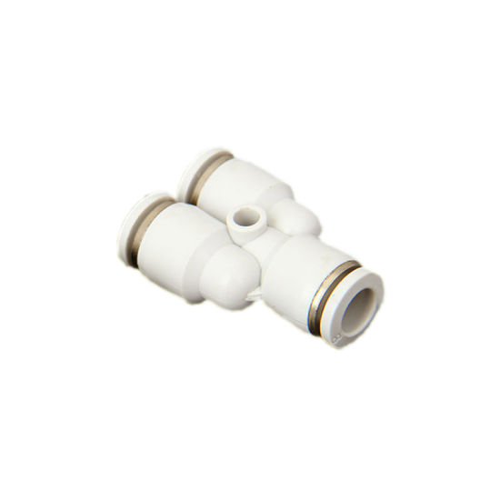 Pneumatic Pipe Connector Joint Cross 4 Way Tube Fitting pictures & photos