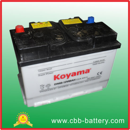 Best Price Auto Battery 12v66ah Dry Charged Car Battery For Car