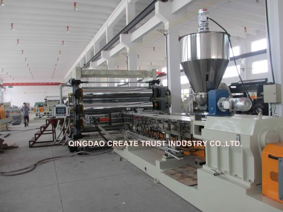 New Technology Three Roll Plastic Calender/Plastic Calender Machine / Plastic Sheeting Machine pictures & photos