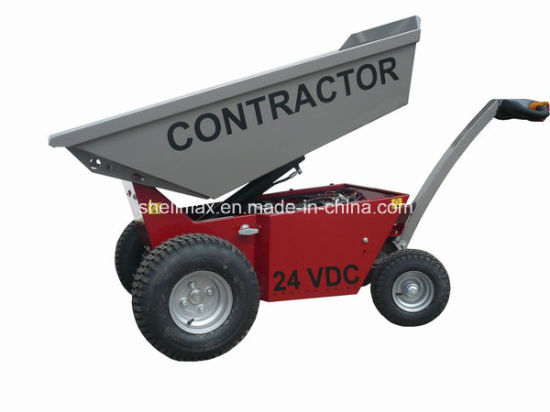 800kg Electrical Wheel Barrow Heavy Duty EU Standard pictures & photos