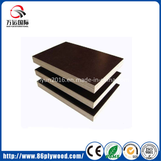 Construction Concrete Form Red Brown Black Film Faced Phenolic Plywood
